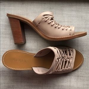 J Crew Heeled Sandals